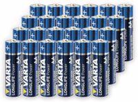 Vorschau: Mignon-Batterie,VARTA, LONGLIFE, Power, 24St.