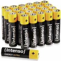 Vorschau: Batterie-Set INTENSO Energy Ultra, AAA LR03, 24 Stück