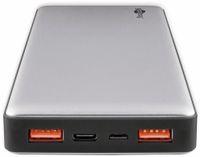 Vorschau: USB Powerbank GOOBAY 59819, QC3.0, 15000 mAh, Aluminium