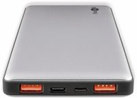 Vorschau: USB Powerbank GOOBAY 59821, QC3.0, 10000 mAh, Aluminium
