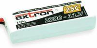 Vorschau: Modellbau-Akkupack EXTRON X2, LiPo, 11,1 V-/2200 mAh