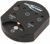 Vorschau: Batterietester ANSMANN für Knopfzellen