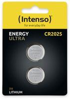 Vorschau: Lithium-Knopfzelle INTENSO CR2025, 2 Stück