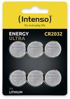 Vorschau: Lithium-Knopfzelle INTENSO CR2032, 6 Stück