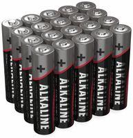 Vorschau: Micro-Batterie-Set ANSMANN, Alkaline, 20 Stück in einer Box, 1,5 V-