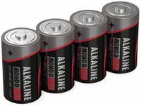 Vorschau: Mono-Batterie ANSMANN, Alkaline, D / LR20, 1,5 V-, 4 Stück