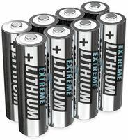 Vorschau: Mignon-Batterie ANSMANN Lithium, AA, 1,5 V-, 8 Stück