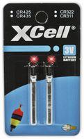 Vorschau: Lithiumstab XCELL, CR435 electronics, 3 V-, 45 mAh, 2 Stück