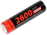 Vorschau: LiIon-Akku XCELL 18650H-2600, 3,7 V-, 2600 mAh, Zelle 4/3 FA