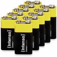 Vorschau: 10er-Set 9V-Blockbatterie INTENSO Energy Ultra, 6LR61, E-Block