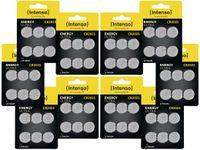 Vorschau: 60er Lithium-Knopfzellen-Set INTENSO CR2025,