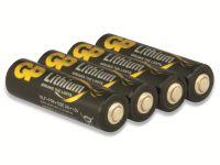 Vorschau: Mignon-Batterie GP EXCELLENT Lithium, 4 Stück