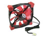 Vorschau: PC-Lüfter COBANITROX N-120-R, LED-Beleuchtung, 120x120x25 mm, 12 V-