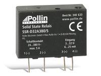 Vorschau: Solid State Relais SSR-D32A380/5, 3...32 V-, 5 A/380 V~