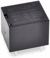 Vorschau: Relais ZETTLER AZ943-1CH-12DE, print, 12 V-, 10 A, 1xUM