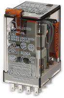 Vorschau: Relais Finder F 55.34, 24 V~, 4xUM, 7 A, 55.34.8.024.0040