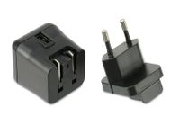 Vorschau: USB-Reiselader QUATPOWER NUL5/3AS, 5 V-/3 A, schwarz