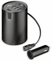 Vorschau: USB-Lader GOOBAY 58846, KFZ, Cup Holder, 10 A, 50 W, 12/24 V