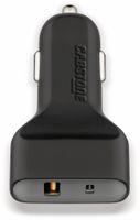 Vorschau: KFZ USB-Lader 2-Port, 5 V-/ 6 A, QC 3.0 Standard