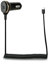 Vorschau: KFZ-Ladekabel LOGILINK PA0147, USB-C, 12/24 V, 2,1 A