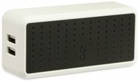 Vorschau: USB-Lader, blueFlame, BF3051K-EU, 4-fach, 6,8A