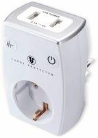 Vorschau: USB-Lader MASTERPLUG, 2x USB, 2,1 A, weiß