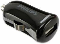 Vorschau: USB-Ladegerät, KFZ, 1-fach, 5V/1A, PHILIPS SLP2252/10