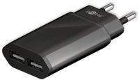 Vorschau: USB-Ladegerät GOOBAY 73274, 5V, 2,4 A, schwarz, 2x USB-Ausgang