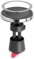 Vorschau: Kabelloses Ladegerät mit Magnethalter, GOOBAY 66310, 10 W, Schwarz/Silber
