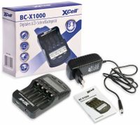 Vorschau: Ladegerät XCELL BC-X1000, mit LCD-Display