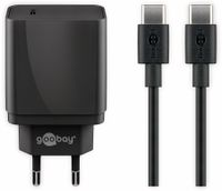 Vorschau: USB-Ladeset GOOBAY 44988, 2-teilig, 3 A, 18 W, schwarz