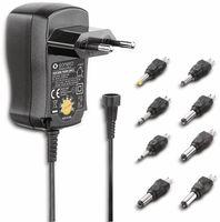 Vorschau: Universal-Steckernetzteil SONERO X-PS010, 300 mA, schwarz