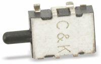 Vorschau: SMD Drucktaster C&K SDS001, Schließer, 0,1 A/12 V-