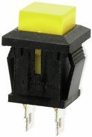 Vorschau: Snap-in Drucktaster mit Lötösen, 14x14 mm, gelb