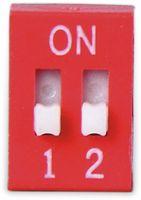 Vorschau: DIP-Schalter, ONPOW, 2 polig