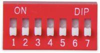 Vorschau: DIP-Schalter, ONPOW, 7 polig