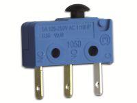 Vorschau: Mikroschalter, MARQUARDT, 01050.1202, tastend, 250 V/AC,