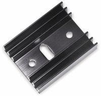 Vorschau: Strangkühlkörper TO 220 9 K/W Aluminium schwarz