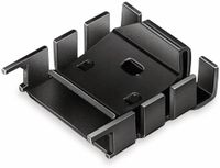 Vorschau: Kühlkörper, Fischer Elektronik, FK 224 SA 218 1, Fingerkühlkörper, schwarz, Aluminium