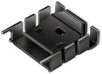 Vorschau: Kühlkörper, Fischer Elektronik, FK 224 MI 218-1, Fingerkühlkörper, schwarz, Aluminium