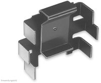 Vorschau: Kühlkörper, Fischer Elektronik, SK 104 25,4 STC, Leiterkartenkühlkörper , schwarz, Aluminium