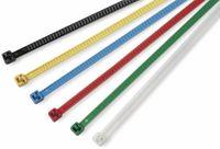 Vorschau: Kabelbinder lösbar, HellermannTyton, 115-00003, 196x4,8 LR55R PA66 Rot 25 ST