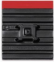 Vorschau: Befestigungssockel f. Kabelbinder, HellermannTyton, 151-02659, 28x28 FMB4APT-I Flex Tack SW 10 ST
