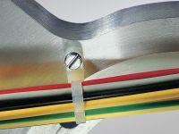 Vorschau: Kabelbinder mit Befestigungselement, HellermannTyton, 113-05019, 215x4, natur, 100 Stück