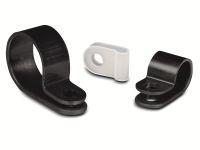 Vorschau: Kabelschelle, HellermannTyton, Snapper, Abdeckung, 211-60003, H4P, schwarz, 1 Stück