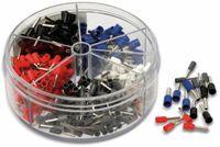 Vorschau: Sortiment Aderendhülsen 0,5 mm² - 2,5 mm², 400 Stück, in Kunststoffbox