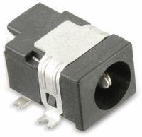 Vorschau: SMD Hohlbuchse mit Schaltkontakt LGP3131-0200, 5,15/1,65 mm