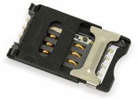 Vorschau: SMD SIM-Karten-Sockel ITT CCM03-3013