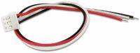 Vorschau: XH-Anschlussleitung mit Kupplung, 180 mm, 3-polig