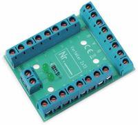 Vorschau: Stromverteiler 2x 13-polig, V2x13, mit Schraubklemmen und Kontrollleuchten
